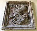 Biblioteca malatestiana, scalone, stemma malatesta.JPG