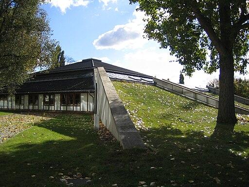 Bibliothek der fachhochschule hannover aussenansicht zentralbibliothek