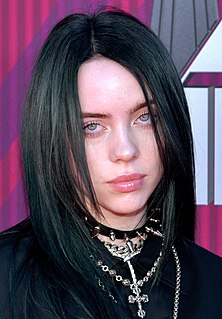 Billie Eilish American singer and songwriter