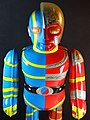 Billiken Shokai – Tin Wind Up – Mechanical Android Kikaida (人造人間Jinjo Ningenキカイダー) – Close Up.jpg