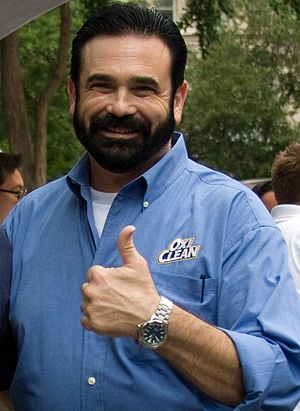Sales presentation - Image: Billy Mays Portrait Cropped