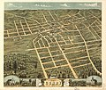 Bird's eye view of the city of Corry, Erie County, Pennsylvania 1870. LOC 73694522.jpg