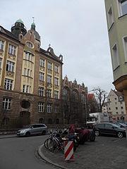 Bismarckstraße Nürnberg file bismarckschule nürnberg veilhof bismarckstraße 20 21 jpg wikimedia commons