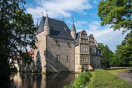 Water castle Schelenburg. Bissendorf, Lower Saxony, Germany
