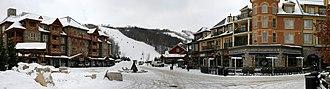 Blue Mountain (ski resort) - View of Blue Mountain Village, a pedestrian village within the resort.