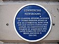 Blue Plaque on the Skipton Building Society - geograph.org.uk - 533620.jpg