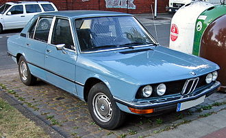 BMW 5 Series - E12 front