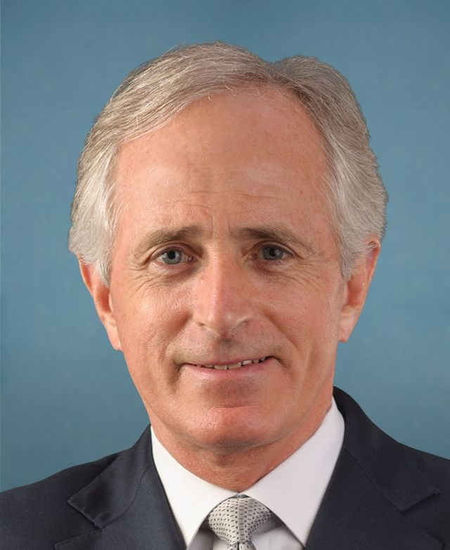 From commons.wikimedia.org: Bob Corker 113th Congress {MID-173601}