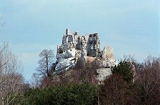 Bobolice Castle - Image: Bobolice(js) 1