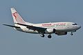 Boeing 737-600 Tunisair (TAR) TS-IOM - MSN 29498 310 - Named Carthage (6960915684).jpg