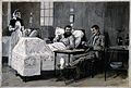 Boer War; two wounded men, one Boer and one British, playing Wellcome V0015563.jpg