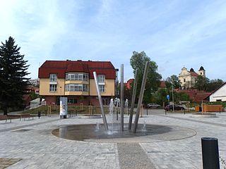 Bojkovice Town in Zlín, Czech Republic
