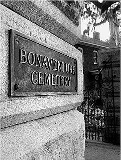 Bonaventure Cemetery cemetery in Georgia, United States