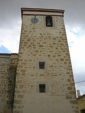 Bonete - Image: Bonete Albacete Spain torre de la iglesia church tower
