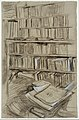 "Bookshelves, Study for ""Edmond Duranty"" MET DT231471.jpg"