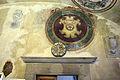Borgo san lorenzo, palazzo del podestà, int., stemmi roffia, martini (portale) e altri.JPG