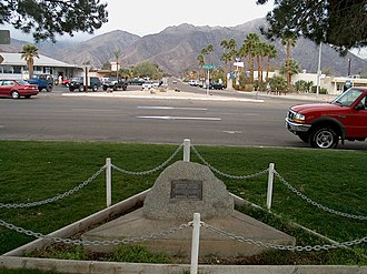 Borrego Springs, California - Downtown as seen from Christmas Circle