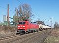 Bottrop Kokerei Prosper DB 152 100 met Unit Cargo (16195936843).jpg