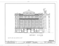 Bradbury Building, 304 South Broadway, Los Angeles, Los Angeles County, CA HABS CAL,19-LOSAN,11- (sheet 4 of 12).png