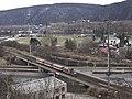Braník, most přes TT do Modřan, s vlakem.jpg