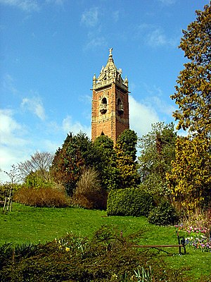Brandon Hill, Bristol - Cabot Tower on top of Brandon Hill, Bristol