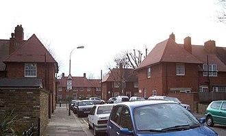 Old Oak and Wormholt - Braybrook Street on the Old Oak Estate