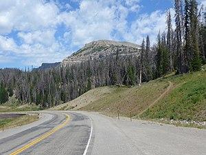 Breccia Peak (Wyoming) - Image: Breccia Peak WY07