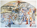 Bregenz, Kommandogebäude Oberst Bilgeri, Fresken von Martin Häusle-01.jpg