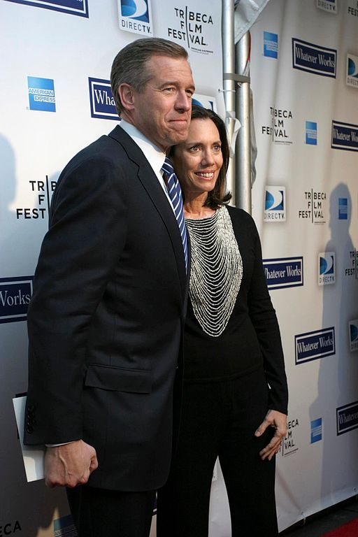 Brian Williams and wife Jane Williams