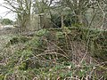 Brick structures at WWII camp site - geograph.org.uk - 1769911.jpg