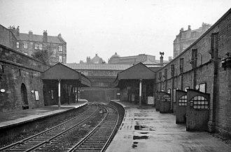 Bridgeton railway station - The station in 1961