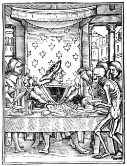 HOLBEIN'S DANCE OF DEATH THE KING
