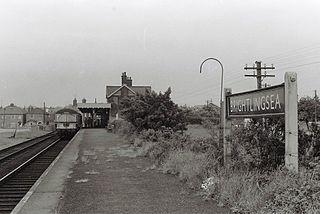 Brightlingsea railway station Former railway station in Essex, England