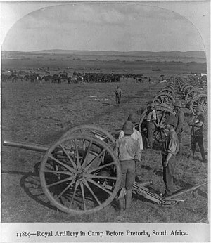 Ordnance BL 15 pounder - 15 pounder in South Africa during the Second Boer War