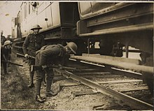 British soldiers searching trains on Kerry line for republicans (17049192487).jpg