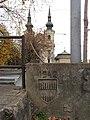 Brno, Zábrdovický most, znak a vročení.jpg