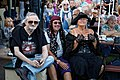 Broadstairs Folk Week Pavilion Gardens conversation, Broadstairs, Kent, England 04.jpg