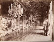 Fotografia del 1870 raffigurante la Galleria del Daniel
