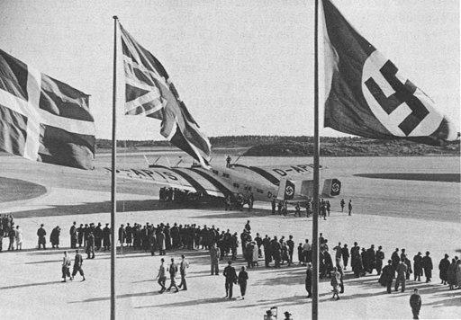 Bromma flygplats invigning 1936
