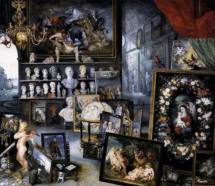 File:Bruegel d. Ä., Jan - The Sense of Sight (detail) - 1618.jpg