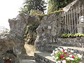 Bruley (Meurthe-et-M.) grotte de Lourdes (nouvelle grotte).JPG