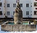 Brunnen Harriesstr 10 (Sieme) Genoveva Brunnen Hermann Hosaeus 1928.jpg