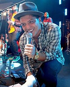 Bruno Mars v roku 2010