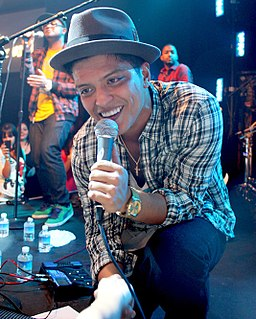 Bruno Mars discography artist discography