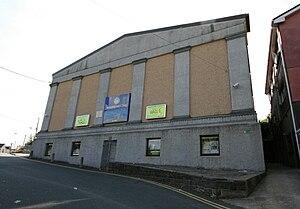 Brynamman - Image: Brynaman Public Hall and Cinema by Aberdare Blog