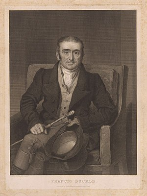 Francis Buckle - Francis Buckle, 1831 engraving by William Camden Edwards