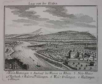 Emanuel Büchel - Büchel's sketch