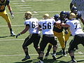 Buffaloes on offense at Colorado at Cal 2010-09-11 4.JPG