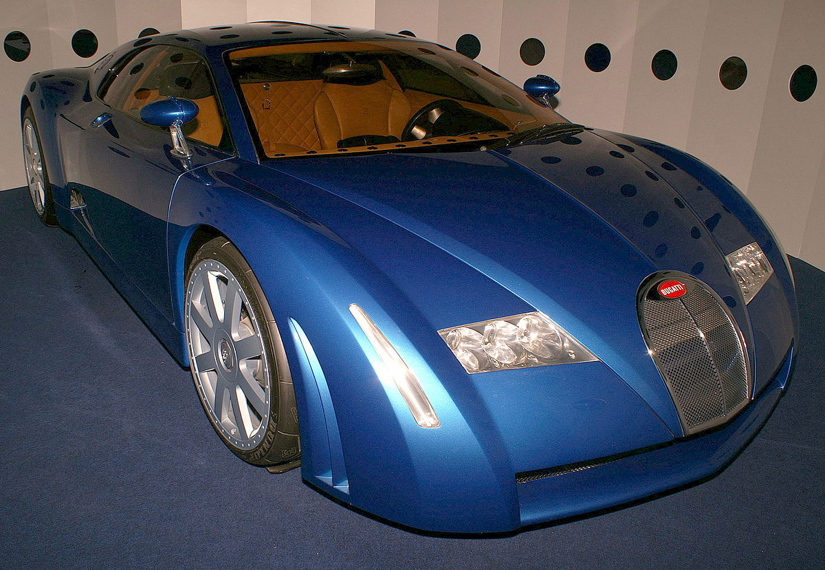 Bugatti chiron 1999