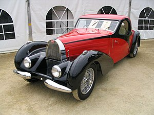 Bugatti Type 57 - Image: Bugatti Type 57 Atalante 1936